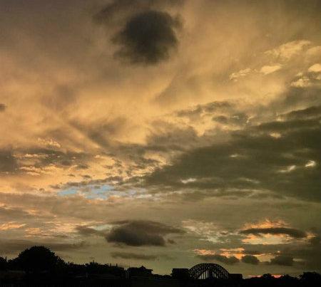 Anna Surwillo Sky over Astoria Queens