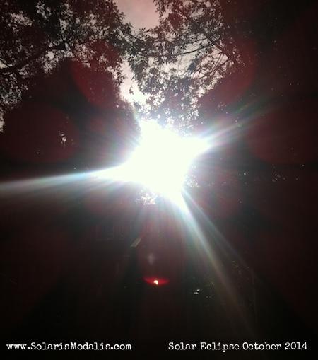 Solar Eclipse, Solaris Modalis, October 23 2014, Sun