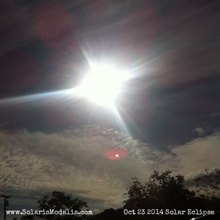 Solar Eclipse, Solaris Modalis, October 23 2014, Sun