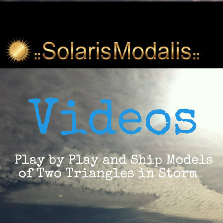 Play by Play and Ship Models of Two Triangles in the Storm