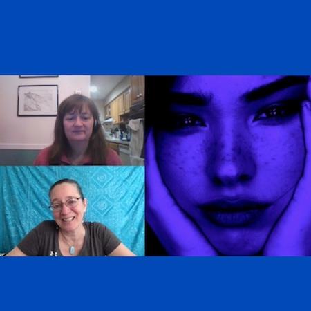 Blue girl, Andromeda, solaris modals, SolarisModalis, Arcturian, Past Lifetime
